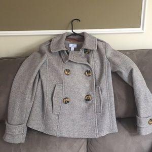 Loft tweed pea coat size XS